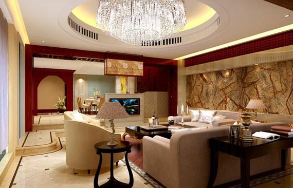 гостиная в китайском стиле фото