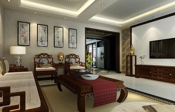 интерьер дома в китайском стиле фото
