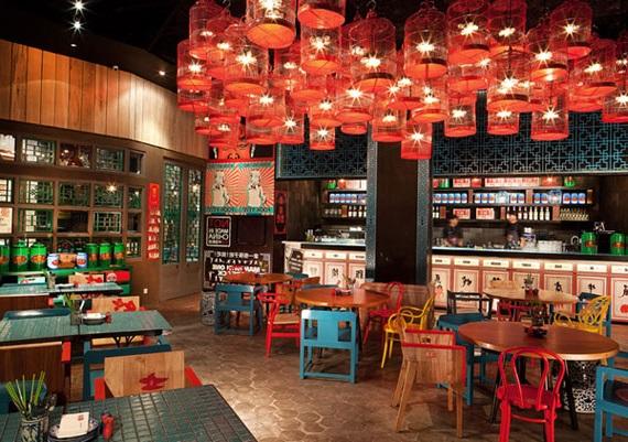 дизайн кафе в китайском стиле