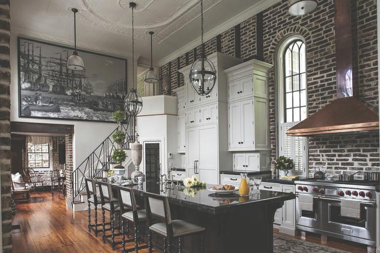 кухни в стиле гранж фото