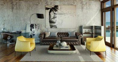 ремонт квартиры в стиле гранж