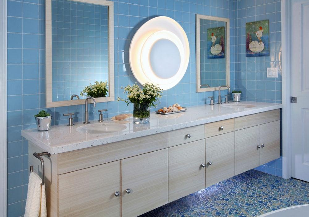 ванна кімната в блакитних тонах картинки