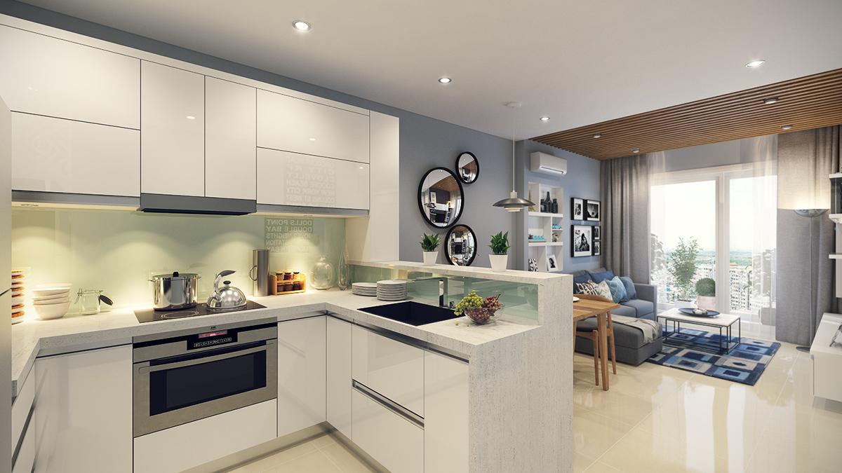 фотографии кухни студии