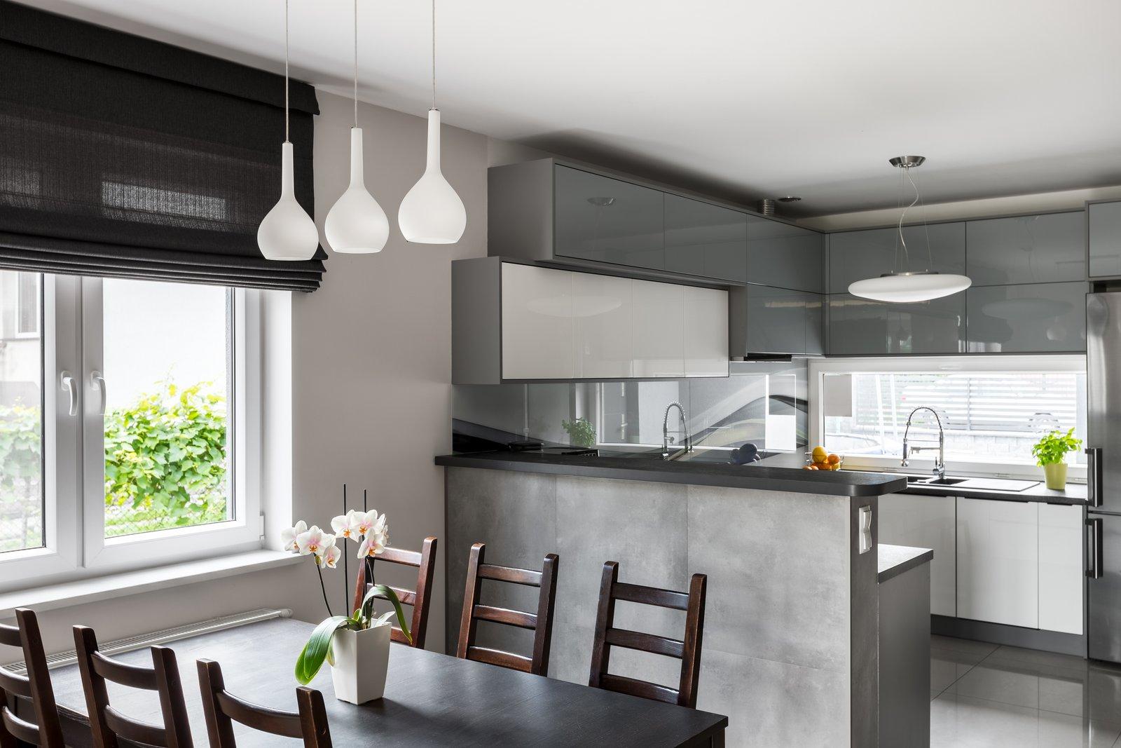 дизайн интерьера кухни студии фотографии