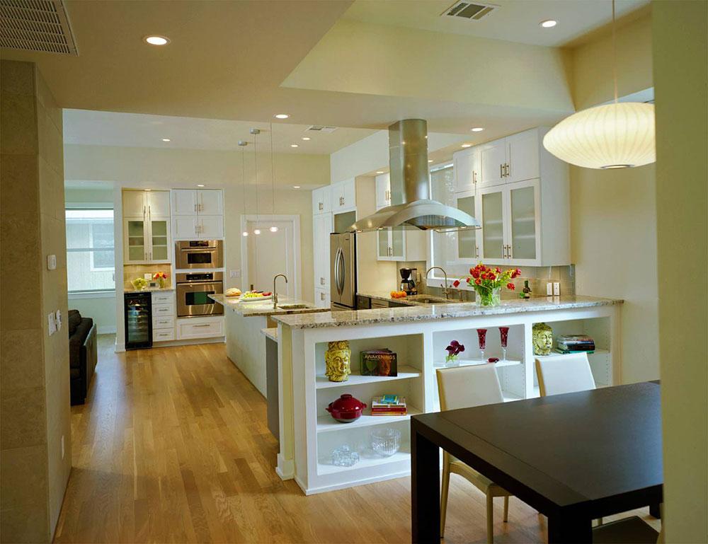 кухні суміщені з вітальнею фото