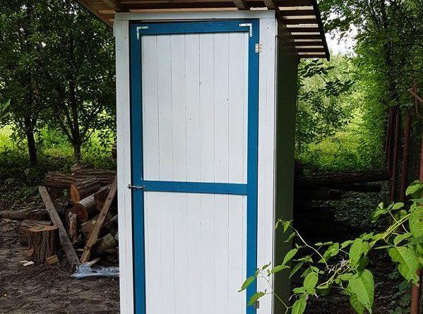 туалет на даче своими руками фото