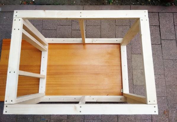как построить будку для собаки из досок