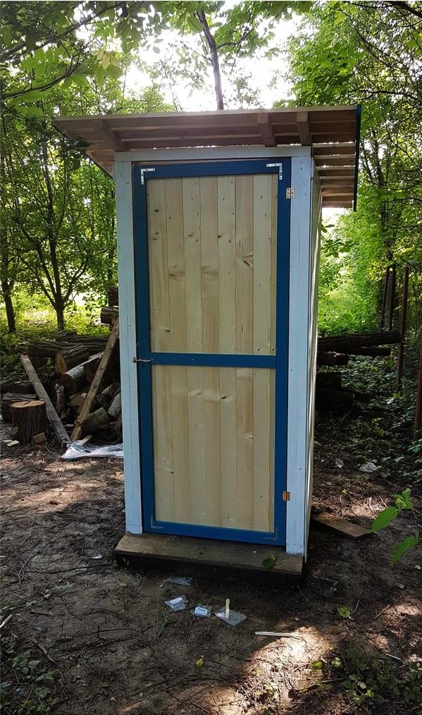 будуємо туалет на дачі своїми руками