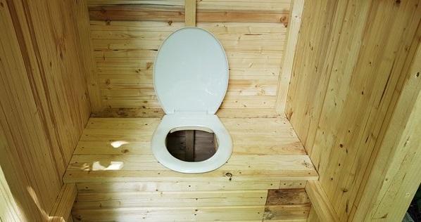туалет на дачу своїми руками