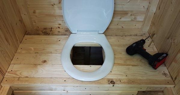 як зробити туалет на дачі своїми руками фото