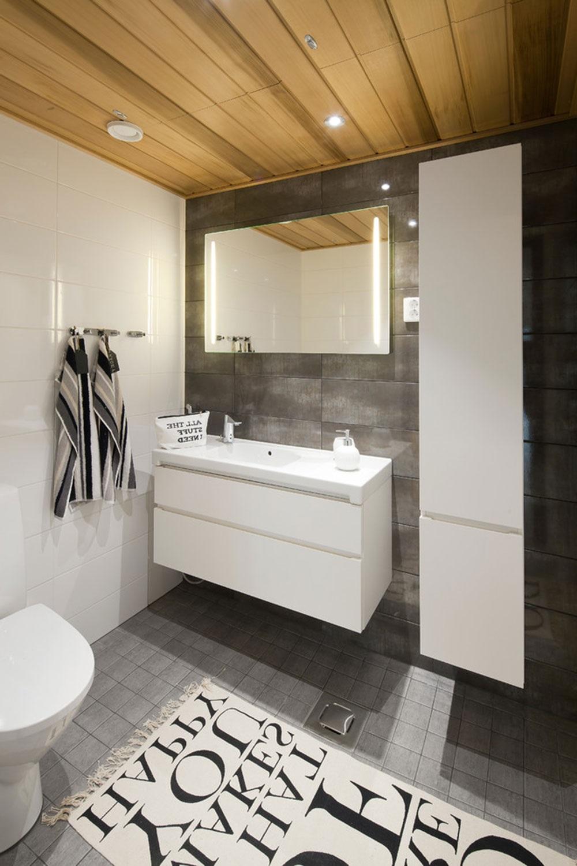 біло-сіра ванна кімната
