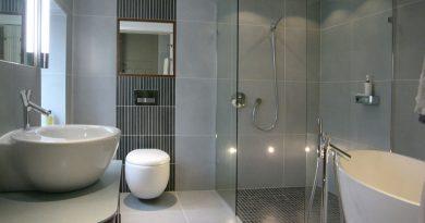 Серая ванная комната – дизайн и идеи