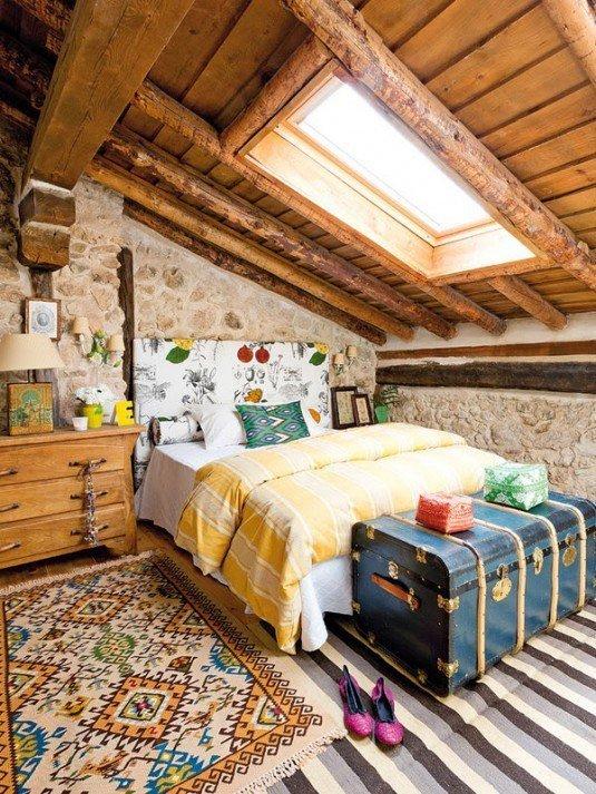 вінтажна спальня