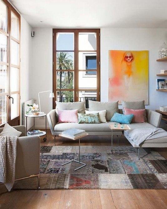 диван в вітальню фото