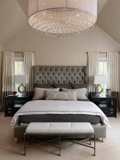 інтер'єр спальні в класичному стилі