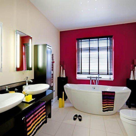 Яскравий дизайн ванної кімнати