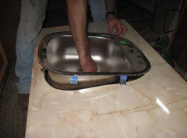 установка мийки