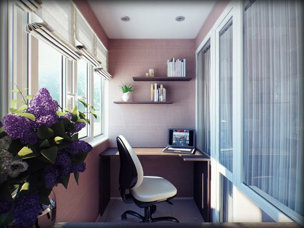 дизайн кабінету в квартирі