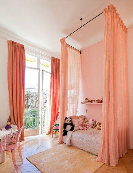 ліжко з балдахіном для ляльок своїми руками