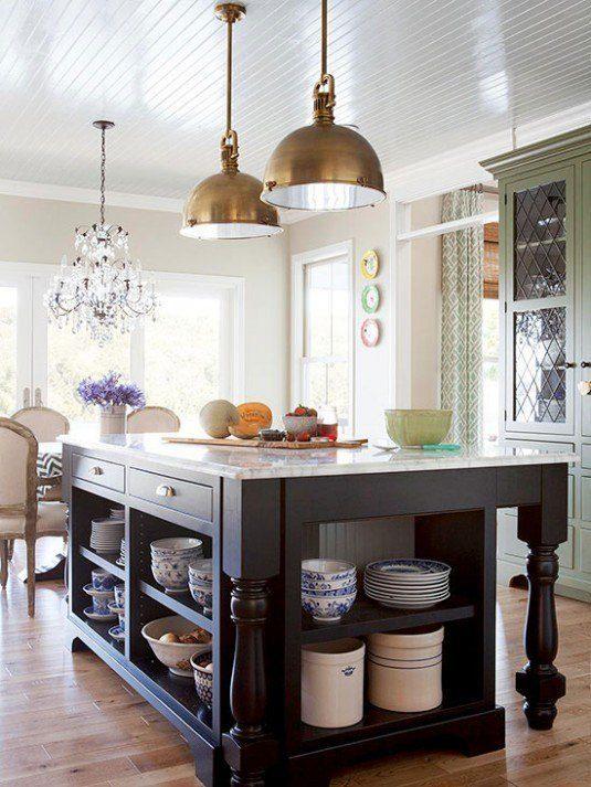 Відкриті полиці на кухні