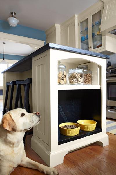 кухня собака