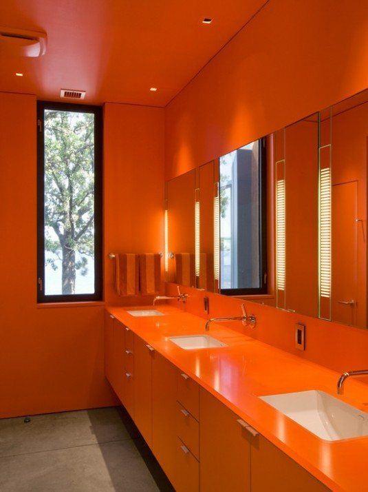 помаранчева ванна