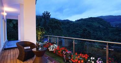 вихід балкона сад