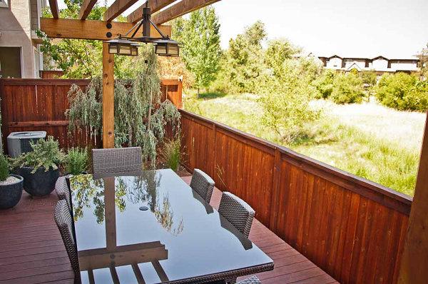 маленький сад балконі