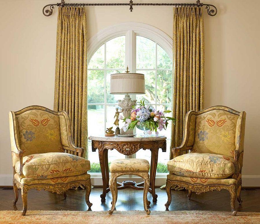 , дизайн вітальні в вікторіанському стилі