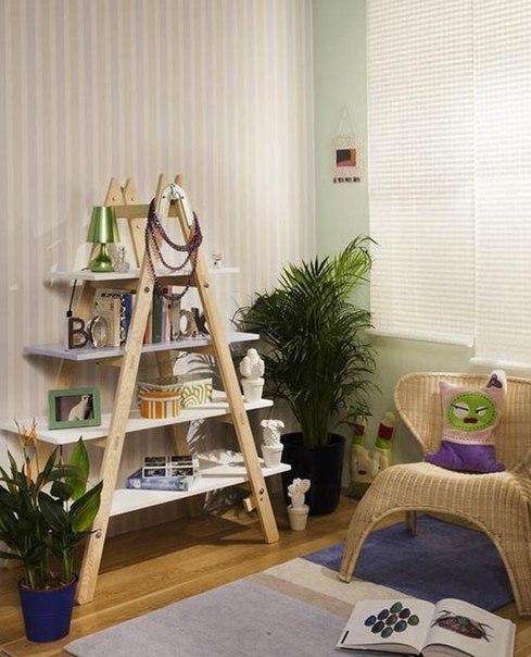 декоративні дерев'яні драбини