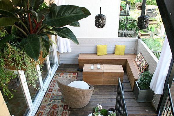 сад на балконі балконне квітництво