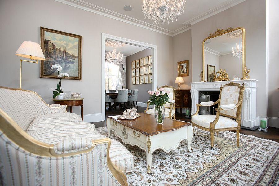 дизайн вітальні в вікторіанському стилі