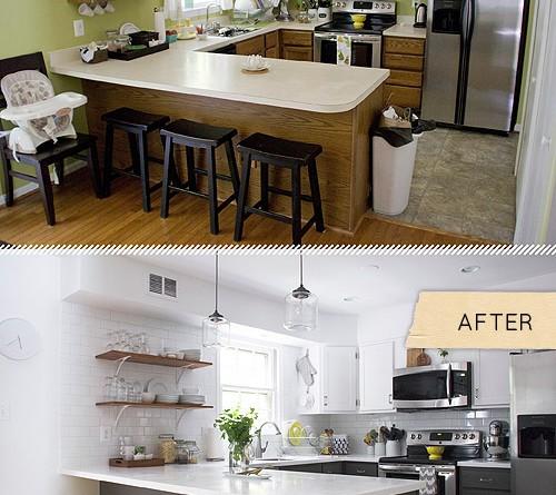 фото реальних кухонь після ремонту