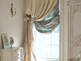 штори в класичному стилі фото
