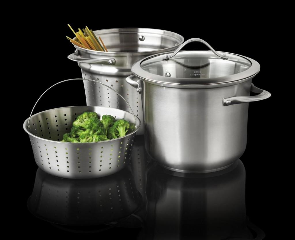 кухонний посуд з нержавіючої сталі купити