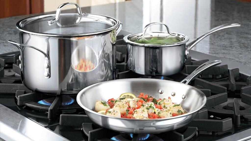 кухонний посуд з нержавіючої сталі росія
