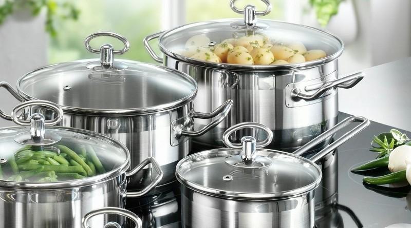 кухонний посуд з нержавіючої сталі з Німеччини