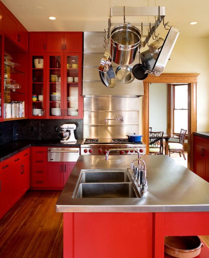 кухонний посуд з нержавіючої сталі