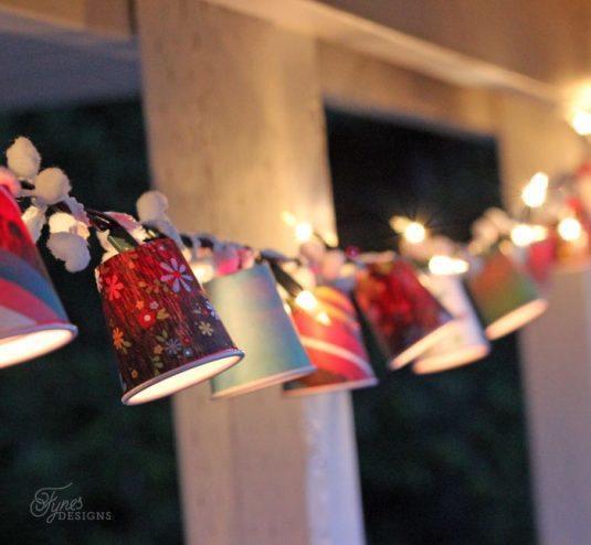 Ліхтарики у вигляді чашок