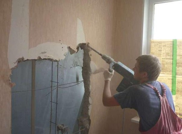 знесення не несучих стін