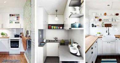 оформлення маленької кухні