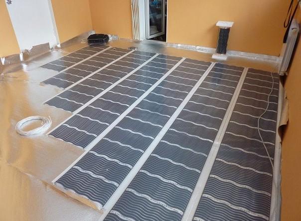 Інфрачервона тепла підлога