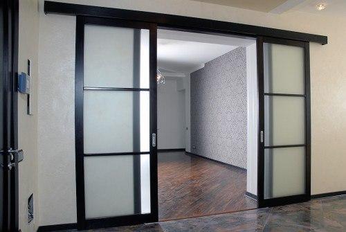 Двері з гіпсокартону фото