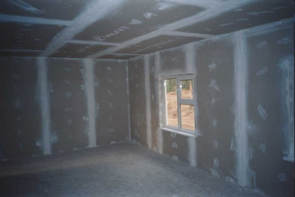 вирівнювання стін гіпсокартоном