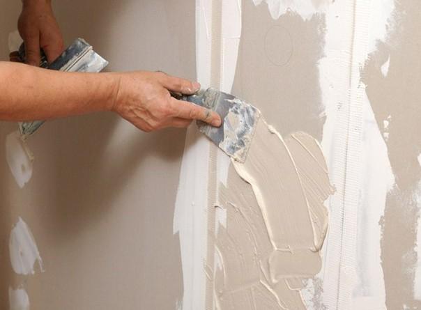 шпаклювання гіпсокартонних стін