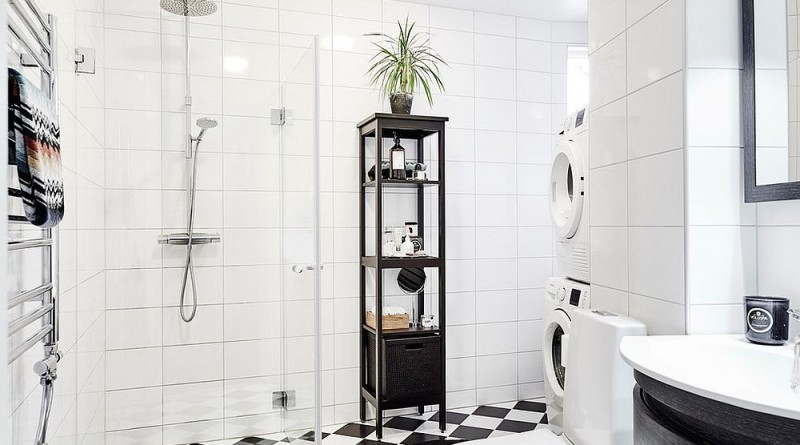 ванна кімната в скандинавському стилі дизайн фото