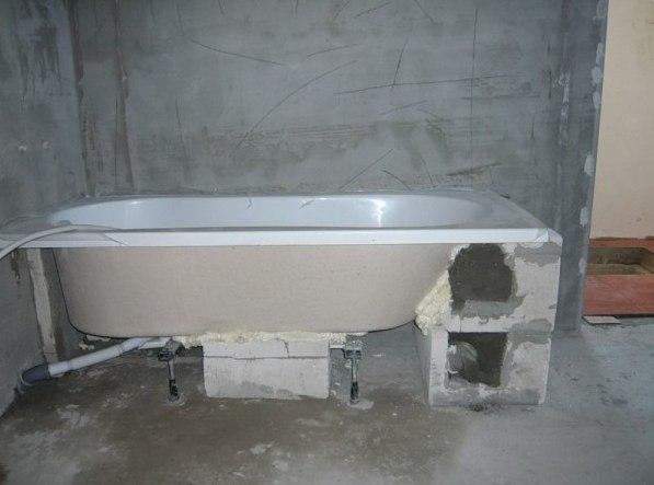 Як підняти ванну