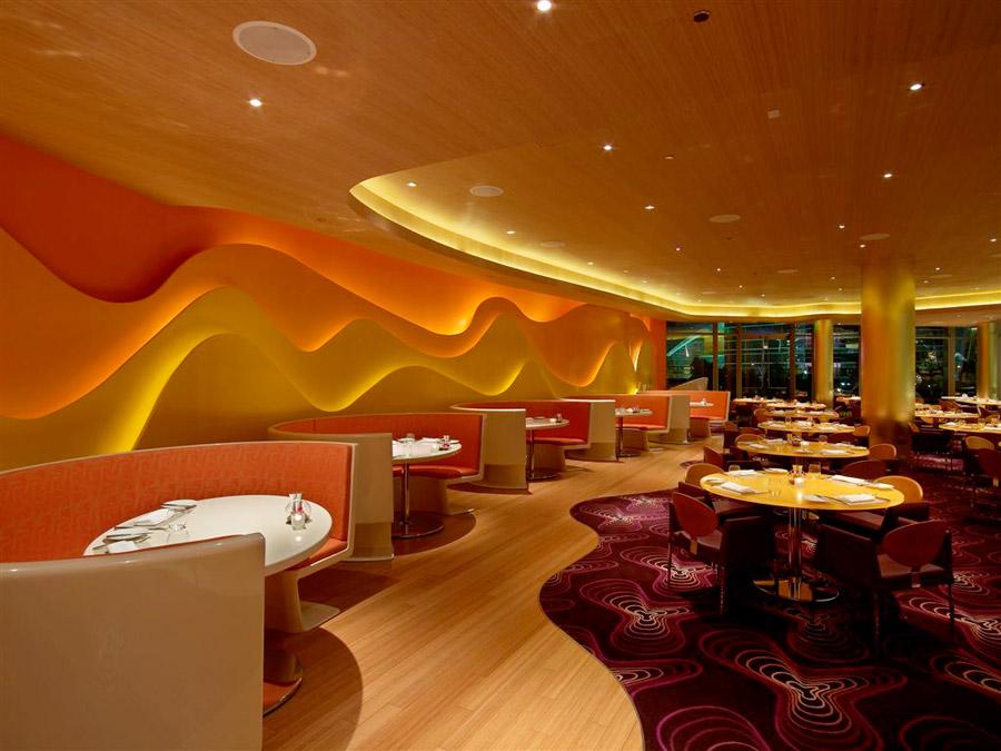 дизайн інтер'єру ресторану