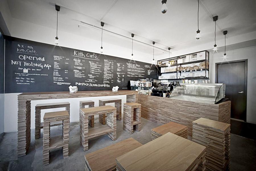 оформлення інтер'єру кафе