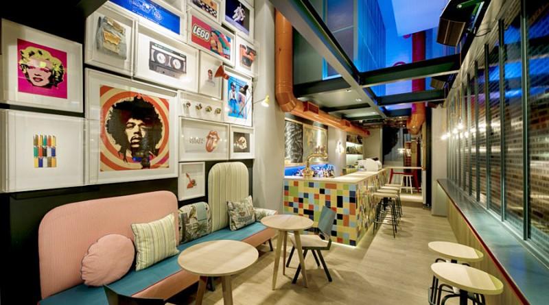 Дизайн інтер'єру кафе